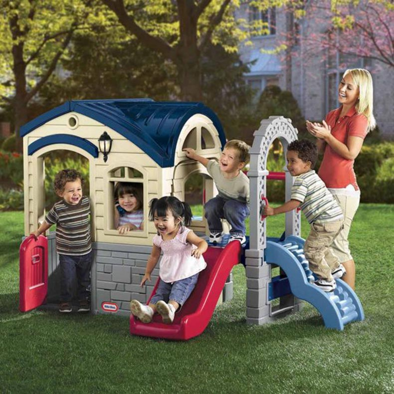 Little Tikes Picnic And Playhouse With Slide